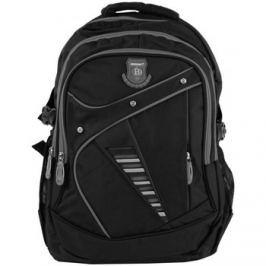 New Berry  Větší batoh NEWBERRY do školy i na sportování L1911 černo-šedý  ruznobarevne Batohy