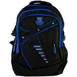 New Berry  Větší batoh NEWBERRY do školy i na sportování L1911 černo-modrý  ruznobarevne Batohy