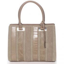 David Jones  Luxusní khaki dámská kabelka do ruky -  Sannaj  ruznobarevne