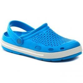 Coqui  Lindo 6413 světle modré nazouváky  Modrá