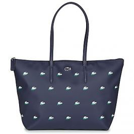 Lacoste  L 12 12 CONCEPT CROC LARGE SHOPPING BAG  Modrá