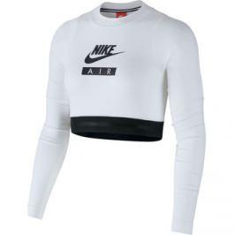Nike  NSW Top Long Sleeve Crop Air  Bílá