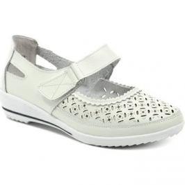 Scandi  52-0368-L1 bílá dámská obuv  Bílá