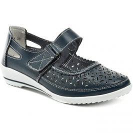 Scandi  52-0368-D1 modrá dámská obuv  Modrá