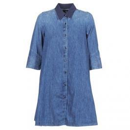 G-Star Raw  DELINE DRESS 3/4  Modrá