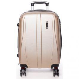 Ormi  Pevný zlatý cestovní kufr -  Othelo M  Zlatá
