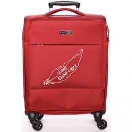 Menqite  Odlehčený cestovní kufr červený -  Kisar L  Červená