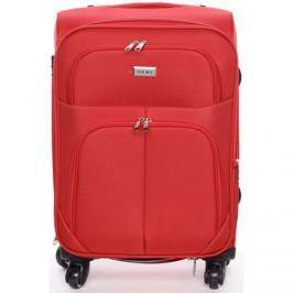 Ormi  Cestovní kufr červený -  Tessa M  Červená