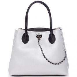Tommasini  Elegantní dámská kabelka do ruky šedá - Tomassini Abby
