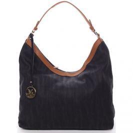 Maria C.  Originální dámská kabelka přes rameno černá - Ryann  Černá