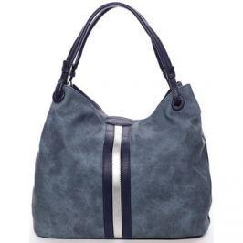 Maria C.  Moderní dámská kabelka pro každý den modrá - Aileen  Modrá
