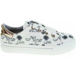 Tamaris  dámská obuv 1-23652-30 white print black  Bílá