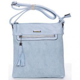 Silvia Rosa  Moderní crossbody kabelka světle modrá -  Medusa  Modrá