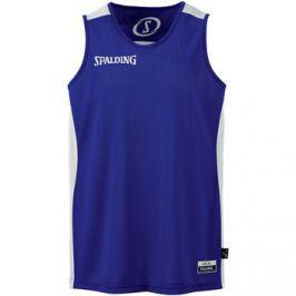 Spalding  Essential Reversible Shirt  Modrá