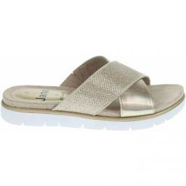 Jana  dámské pantofle 8-27103-20 gold  Zlatá