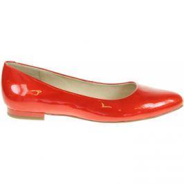 Caprice  dámské baleriny 9-22107-20 red patent  Červená