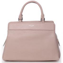 David Jones  Elegantní růžová dámská kabelka do ruky -  Aviana  Růžová