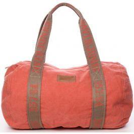 David Jones  Dámská látková oranžová kabelka přes rameno -  Molly  ruznobarevne
