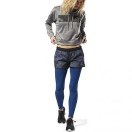 Reebok Sport  Printed Woven Shorts  Černá