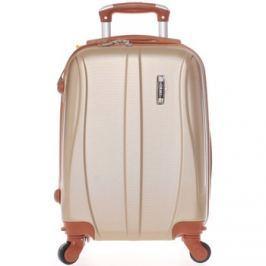 Ormi  Pevný zlatý palubní cestovní kufr -  Othelo XS  Zlatá