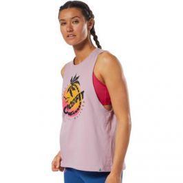Reebok Sport  CrossFit Cali Muscle Tank  Fialová