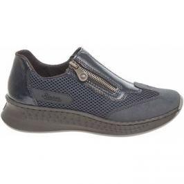Rieker  dámská obuv N5653-14 blau  Modrá