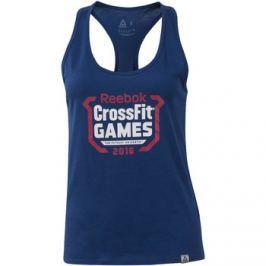 Reebok Sport  CrossFit Games Tank  Modrá