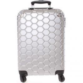 Ormi  Stříbrný cestovní kufr pevný -  Hive S  Stříbrná