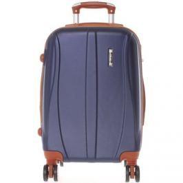 Ormi  Pevný tmavě modrý cestovní kufr -  Othelo M  Modrá