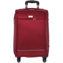 Ormi  Elegantní vínový látkový kufr -  Sleek S  Červená