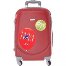 Ormi  Pevný cestovní kufr červený - Lumi Evenger M  Červená