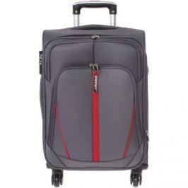 Ormi  Látkový šedý cestovní kufr -  Grave S