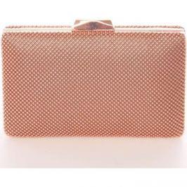 Delami  Menší dámské perleťové psaníčko zlatorůžové -  V406  Růžová