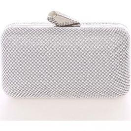 Delami  Módní dámské perleťové psaníčko silver -  V437  Stříbrná