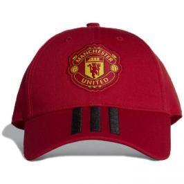 adidas  Manchester United 3-Stripes Cap  Červená