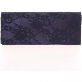 Delami  Módní dámské krajkované psaníčko tmavě modré -  L081  Modrá