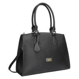 Černá dámská kabelka s pevnými uchy
