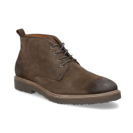 Kožená obuv ve stylu Chukka Boots