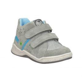 Kožená dětská kotníčková obuv