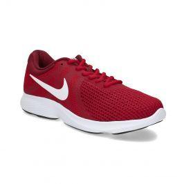 Červené pánské tenisky sportovního vzhledu