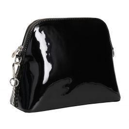 Lakovaná černá kabelka