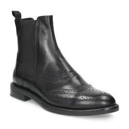 Kožené Chelsea Boots se zdobením